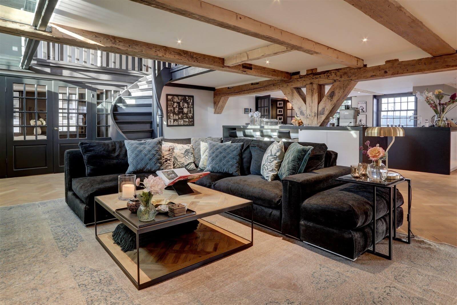 Luxurious Loft Apartment in an Amsterdam Canal Home