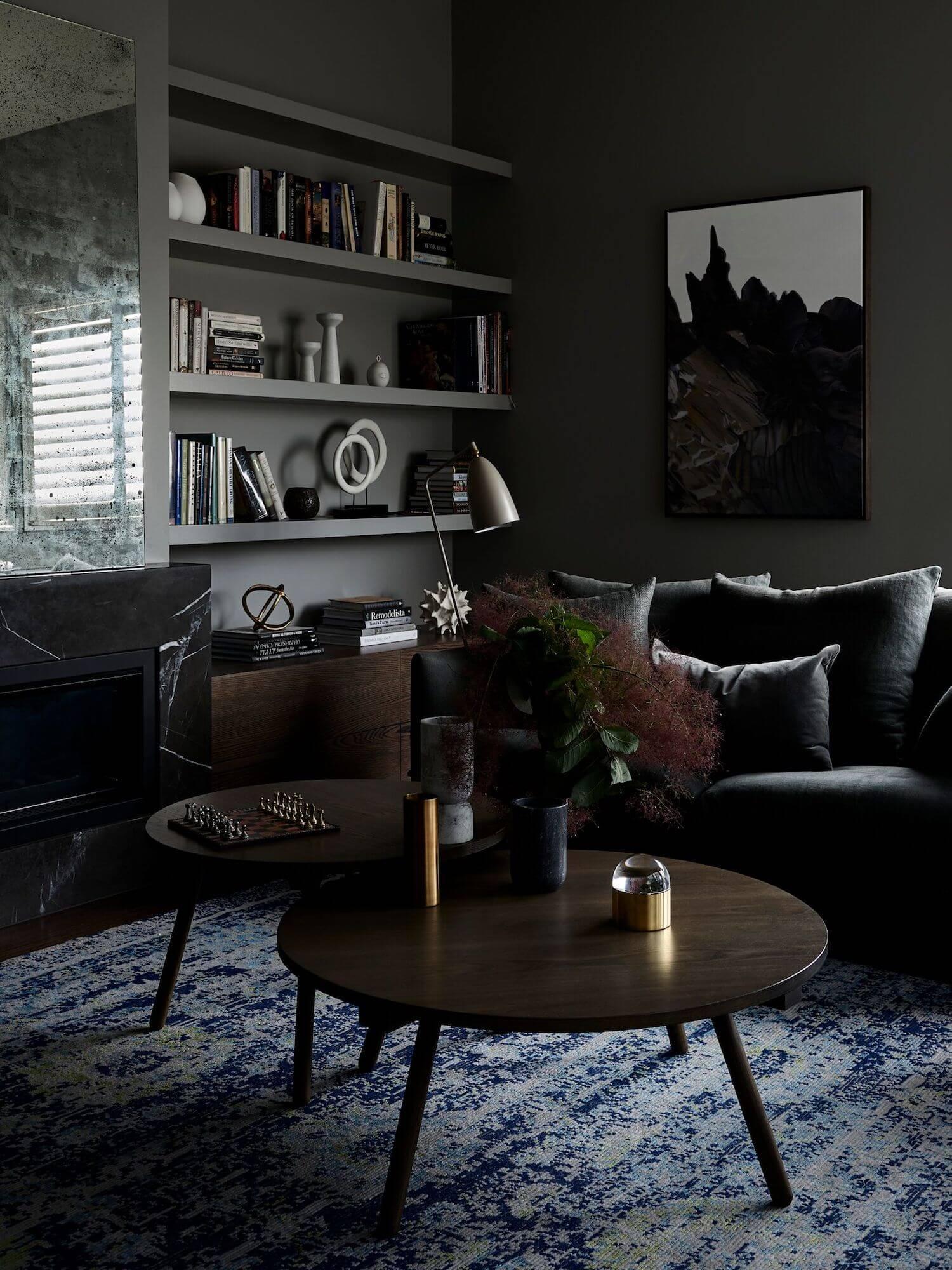 A Stylish Moody Grey Home in Australia