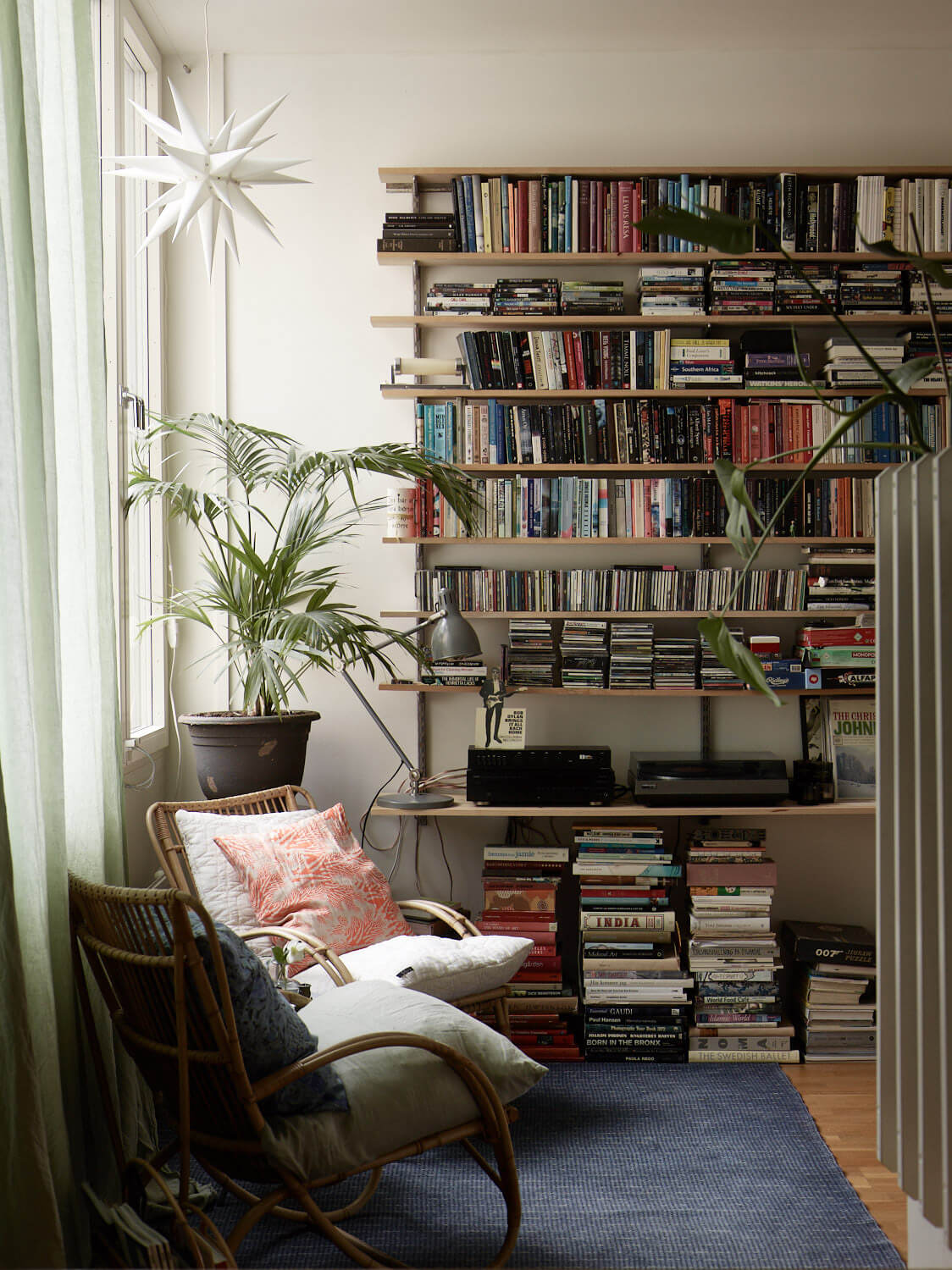 A Cozy Creative Family Home in Stockholm