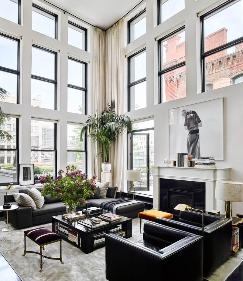 The Modern SoHo Duplex of Shoe Designer Brian Atwood