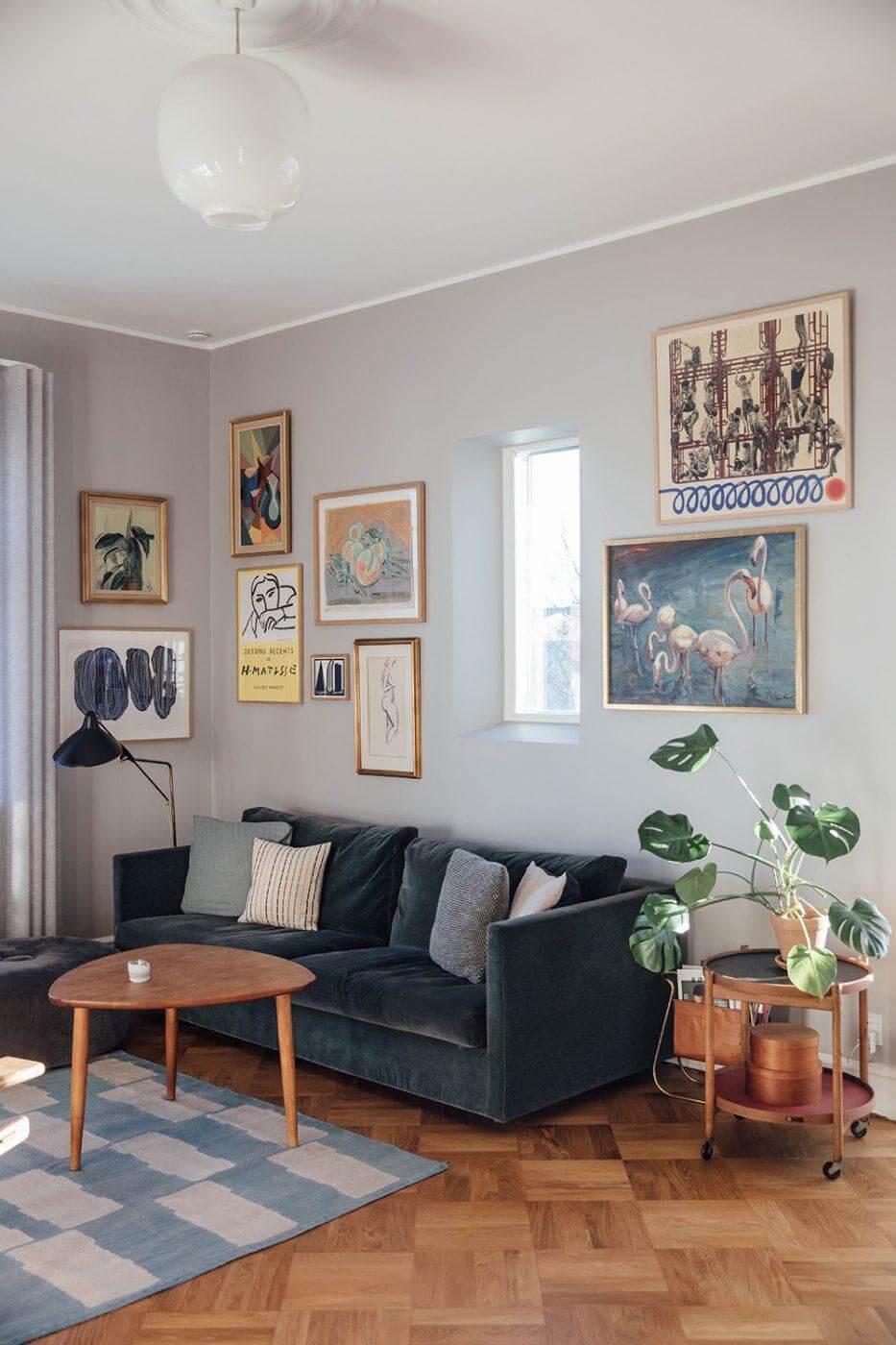 A Copenhagen Apartment Bathing In Natural Light