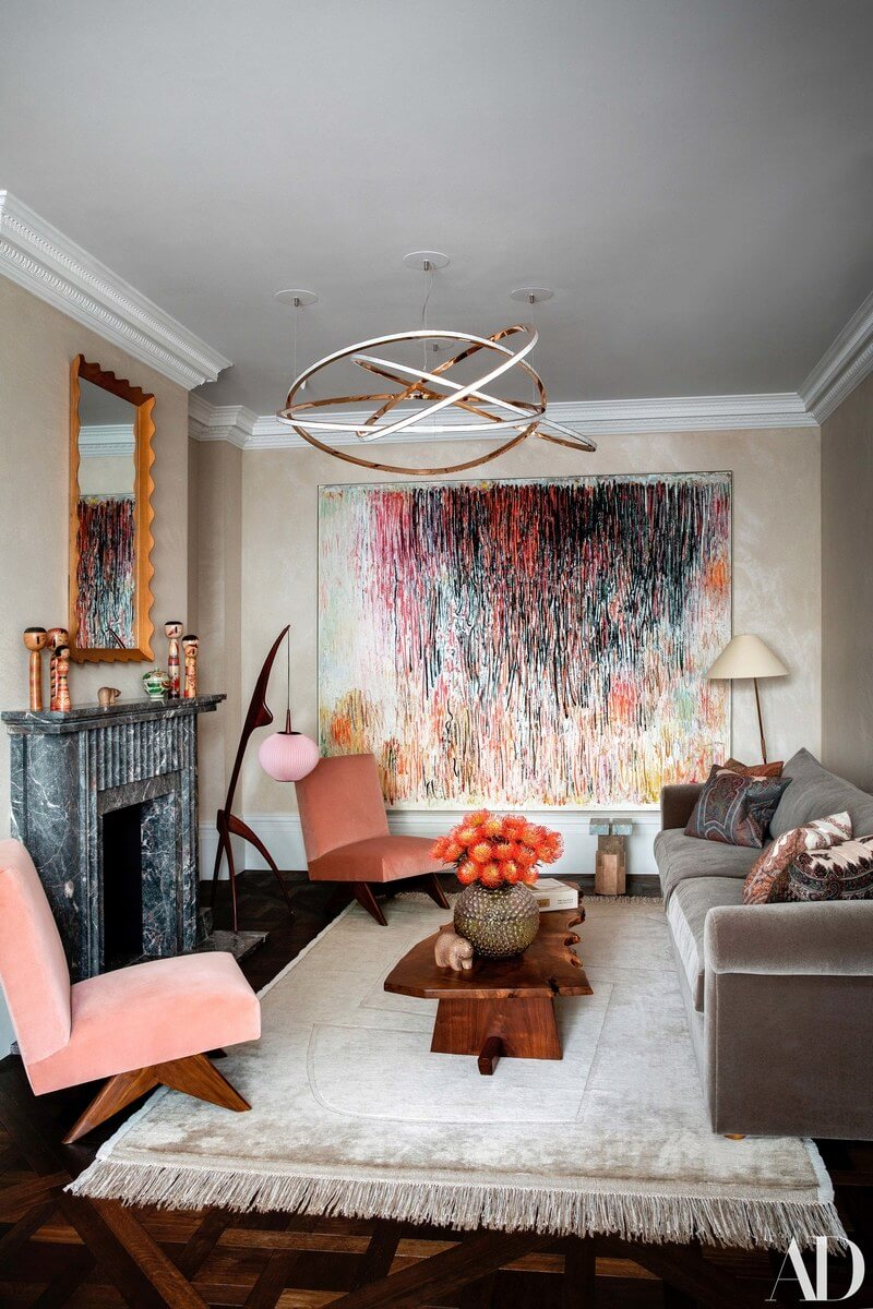 A Layered and Colorful Family Home in Notting Hill