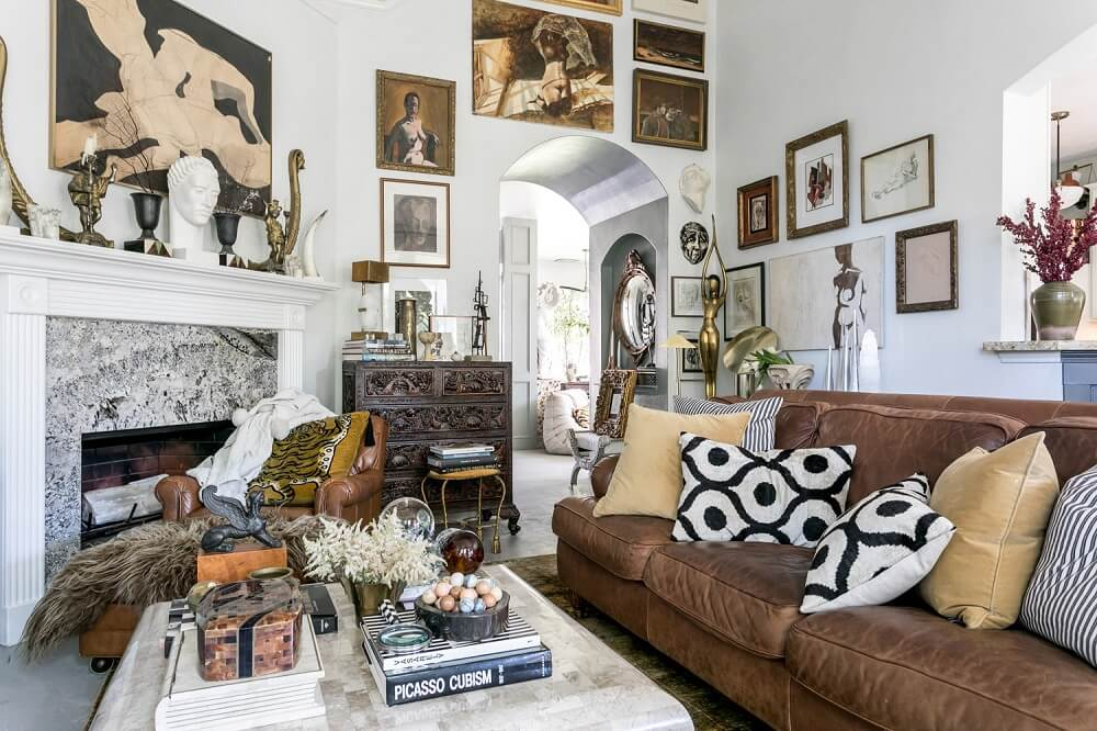 A Collector's Vintage Eclectic Home in Texas