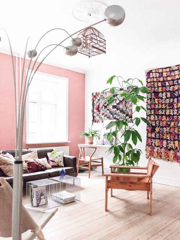A Danish Home With A Touch Of Pink In Every Room