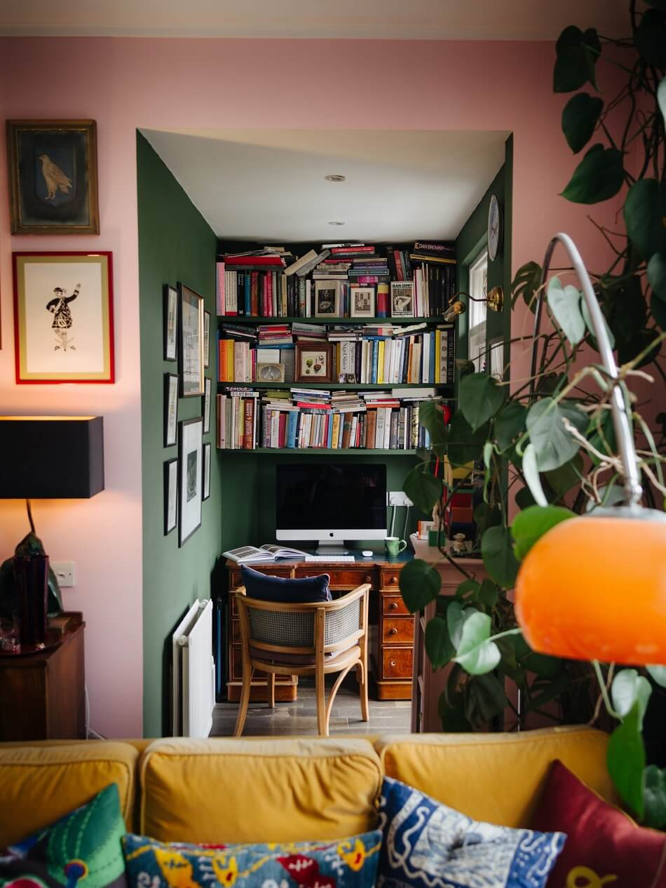 The Colorful Eclectic Home of Designer Luke Edward Hall & Duncan Campbell