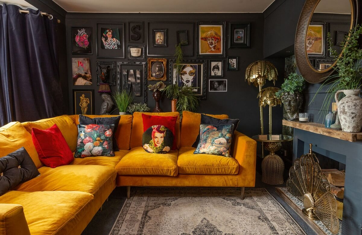 The Cozy Eclectic Home of Shelley Carline