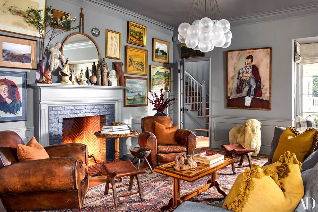 The Charming Family Home of Emily Ward and Giovanni Ribisi