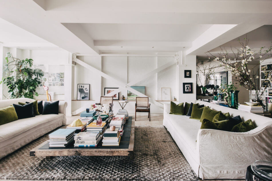 A Serene Light-Filled Loft Apartment in Soho
