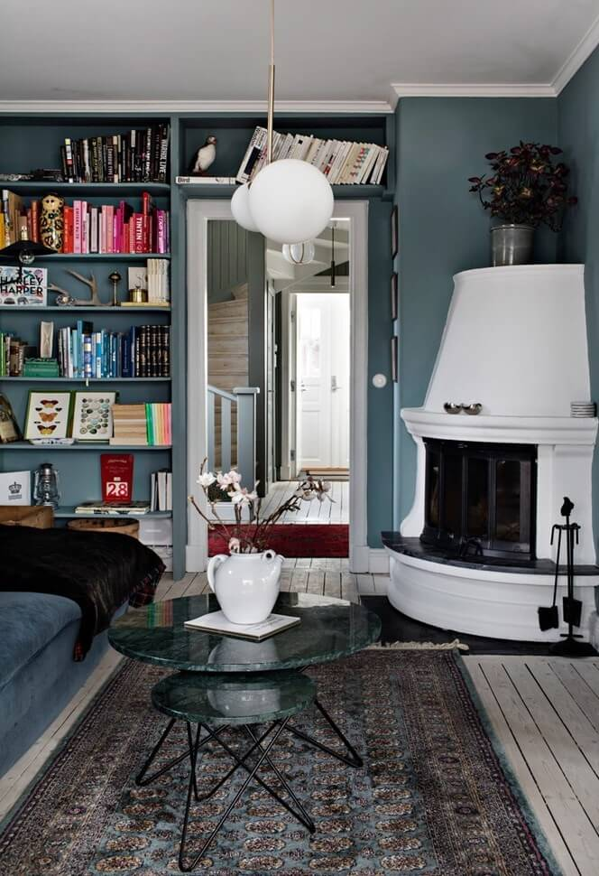 A Stylish Scandinavian Home with Cozy Nooks