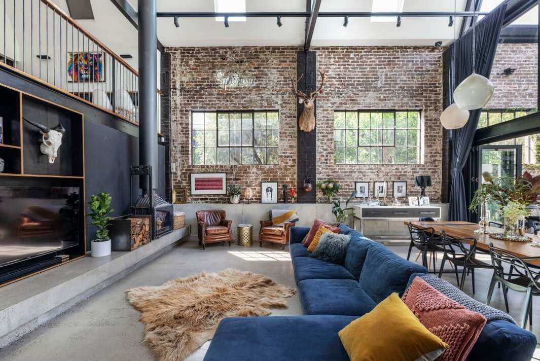 A Spectacular Warehouse Conversion in Sydney
