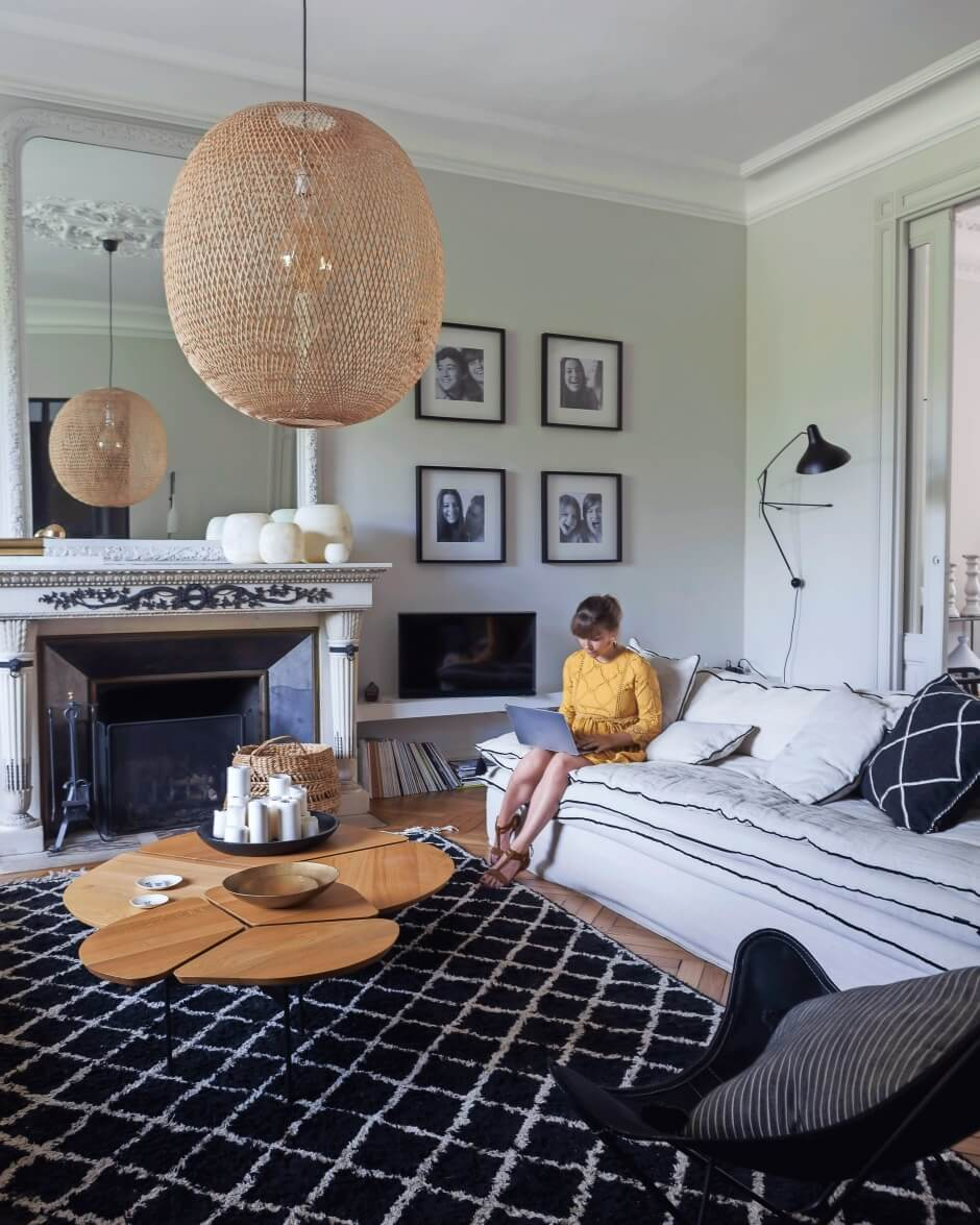 Nordic Design In A 19th-Century French Manor House