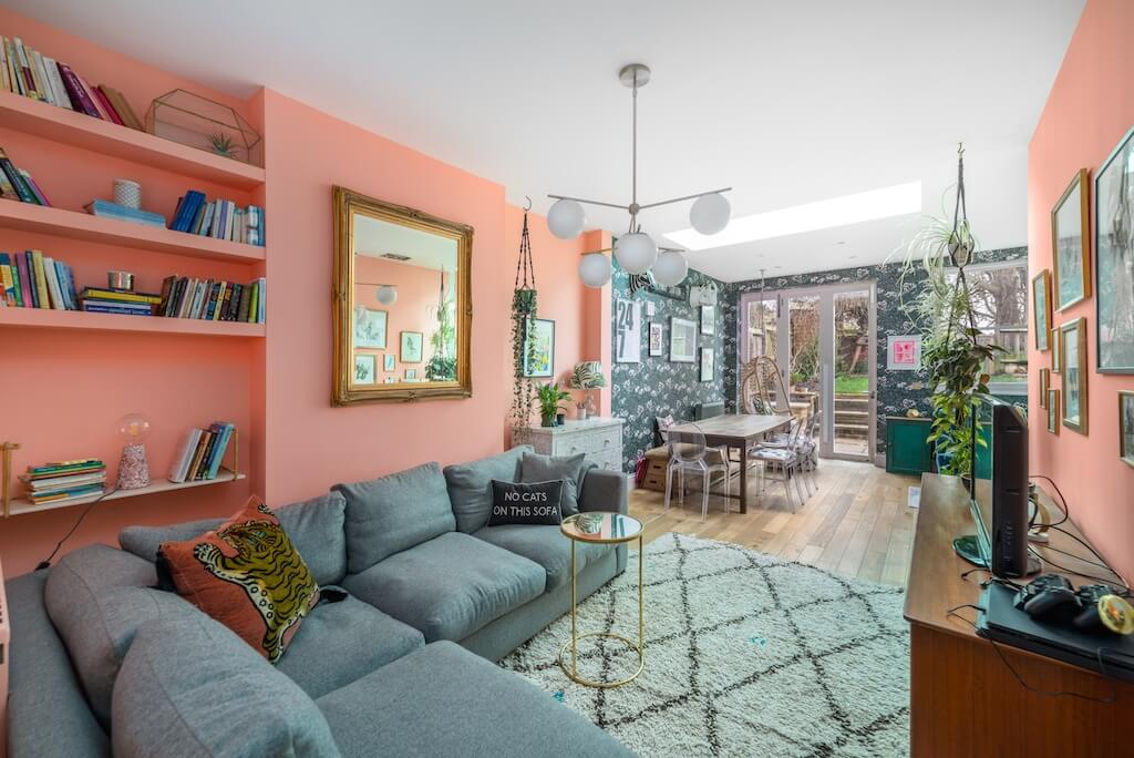 A Color Explosion In A South London Home