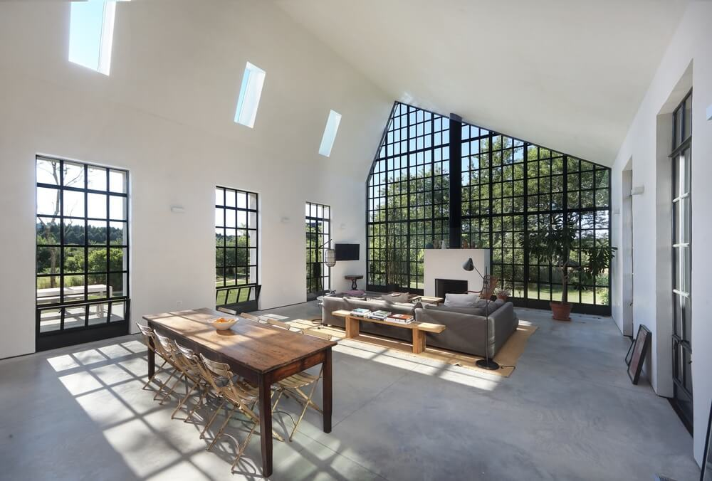 An Elegant Architectural Open Plan Home With Impressive Windows