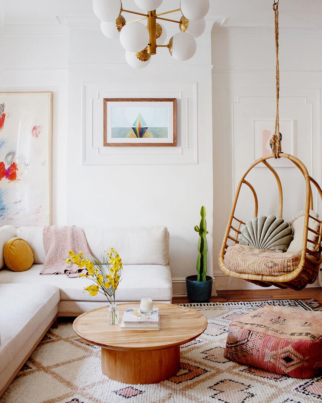 A Modern Bohemian Apartment in Brooklyn