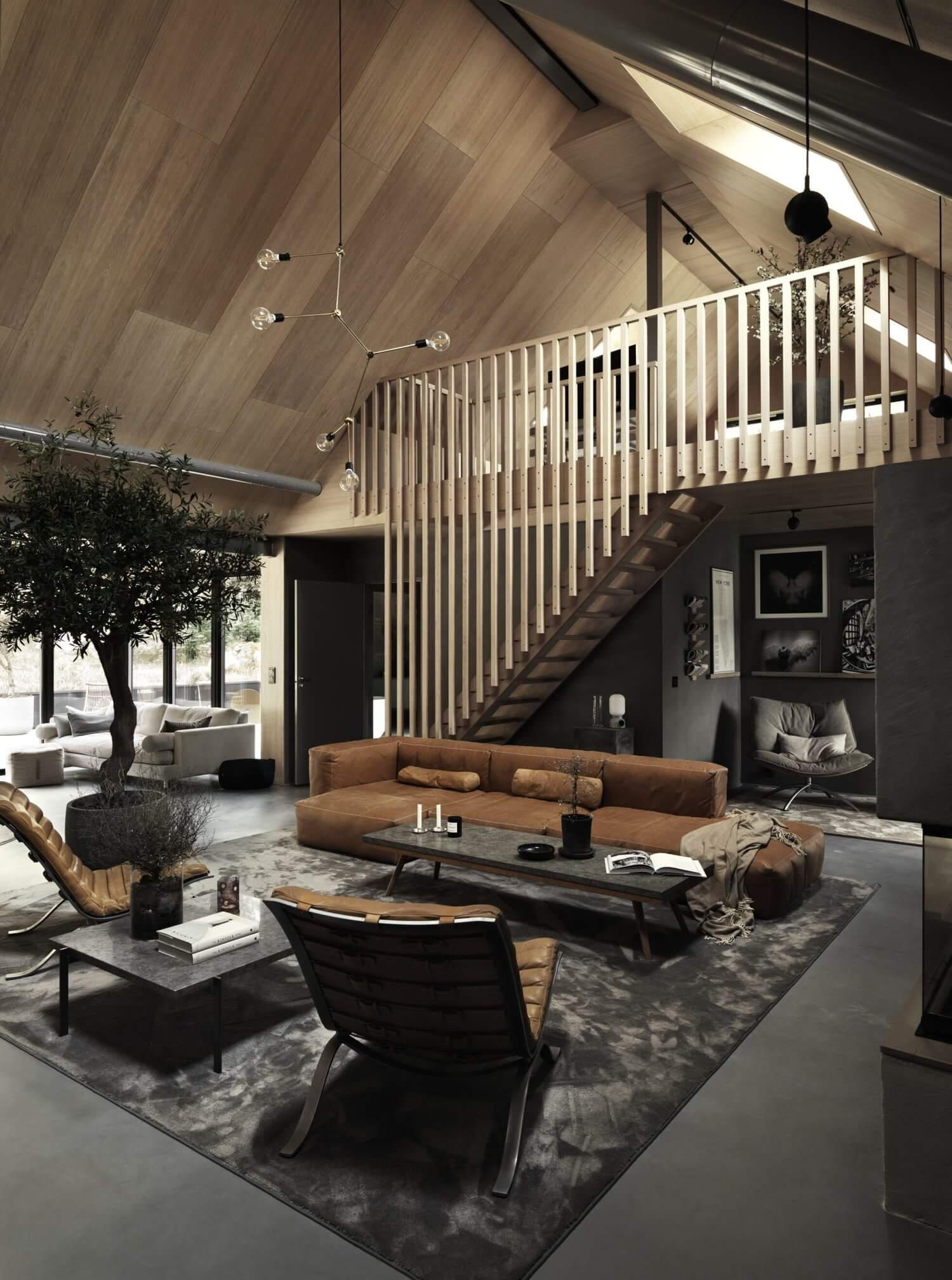 A Sustainable Open-Plan Home In The Swedish Countryside