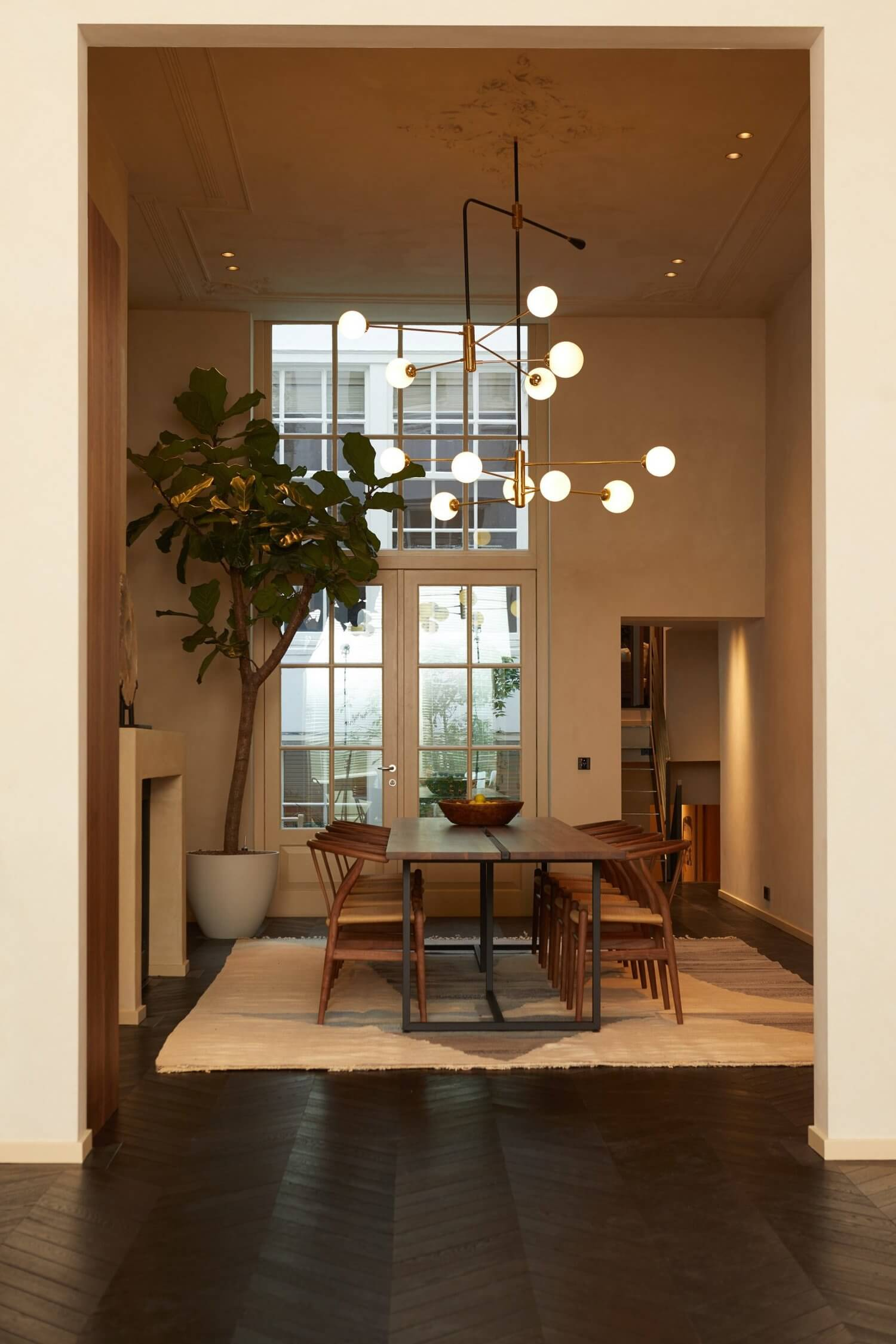 An Amsterdam Canal House Transformed Into 3 Calm & Stylish Apartments