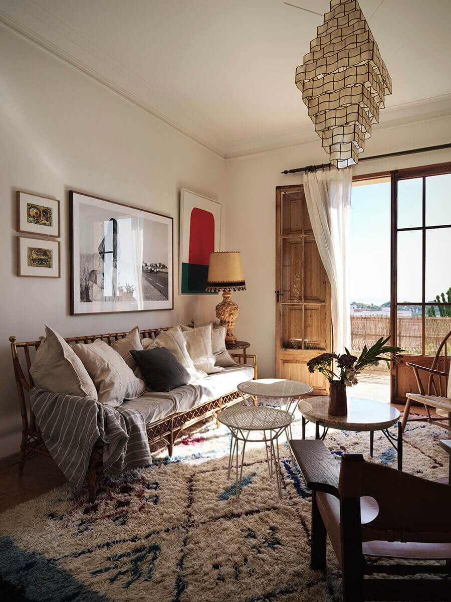 The Bohemian Home of Dusty Deco Founders on Mallorca