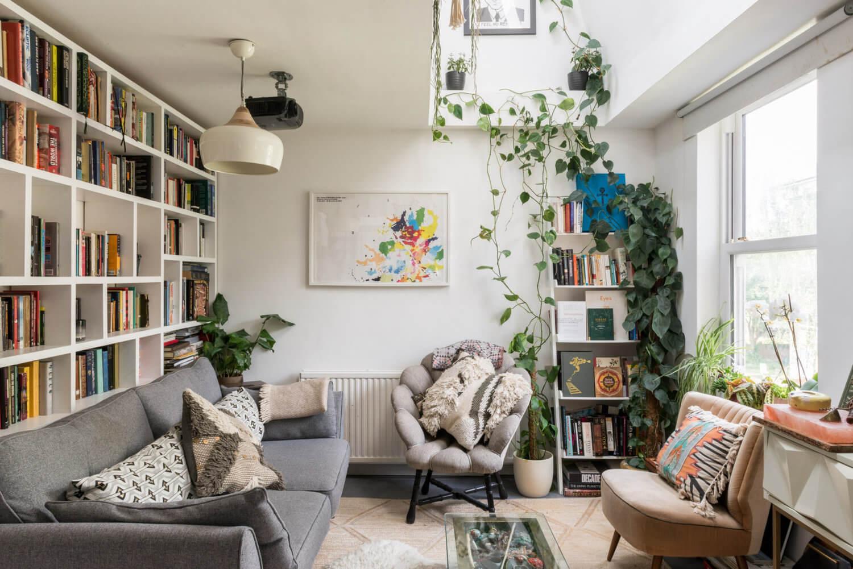 A Bright and Cozy Attic Apartment in London