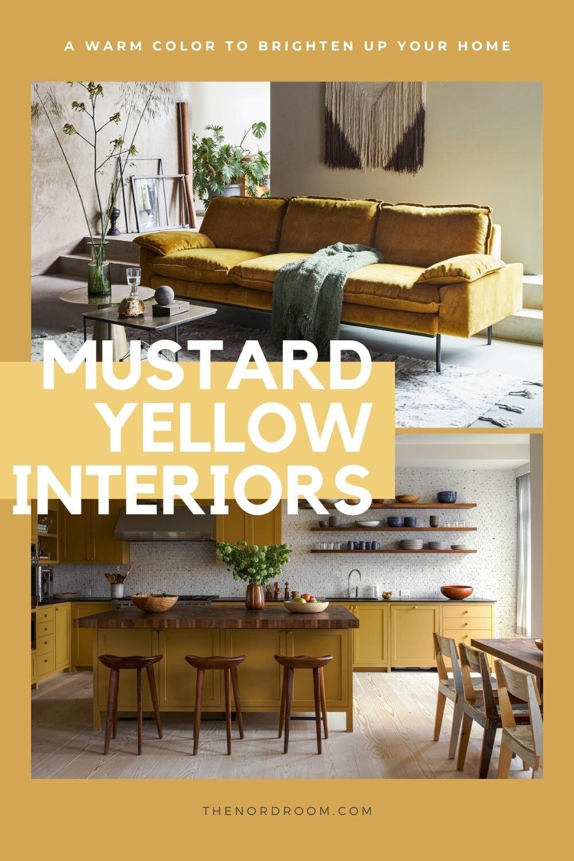 Mustard Yellow Home Decor Inspiration