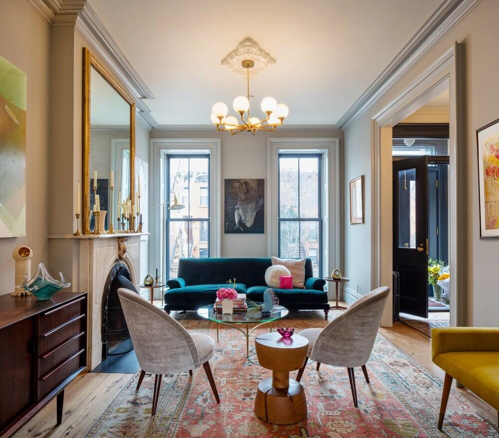 A Beautiful Boerum Hill Townhouse With Classic Touches