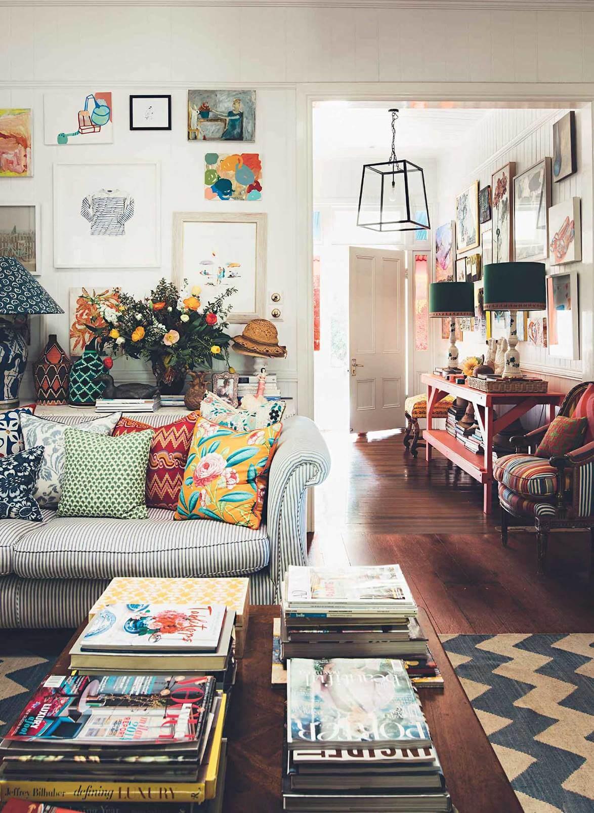 The Colorful Brisbane Home of Interior Designer Anna Spiro