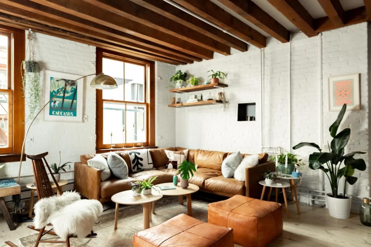 A Scandinavian-Style Loft Apartment in New York