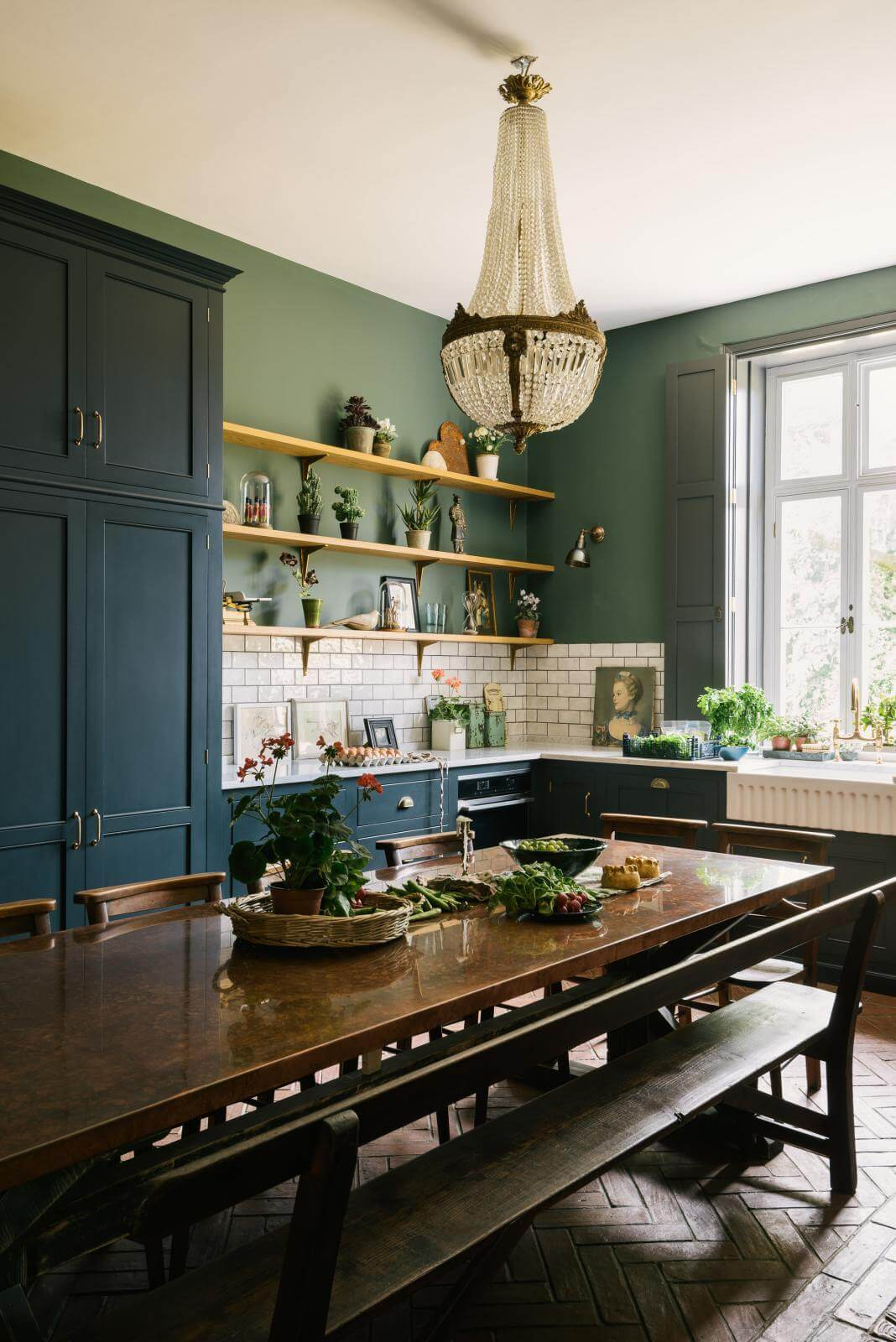 The Victorian Rectory Kitchen by deVOL