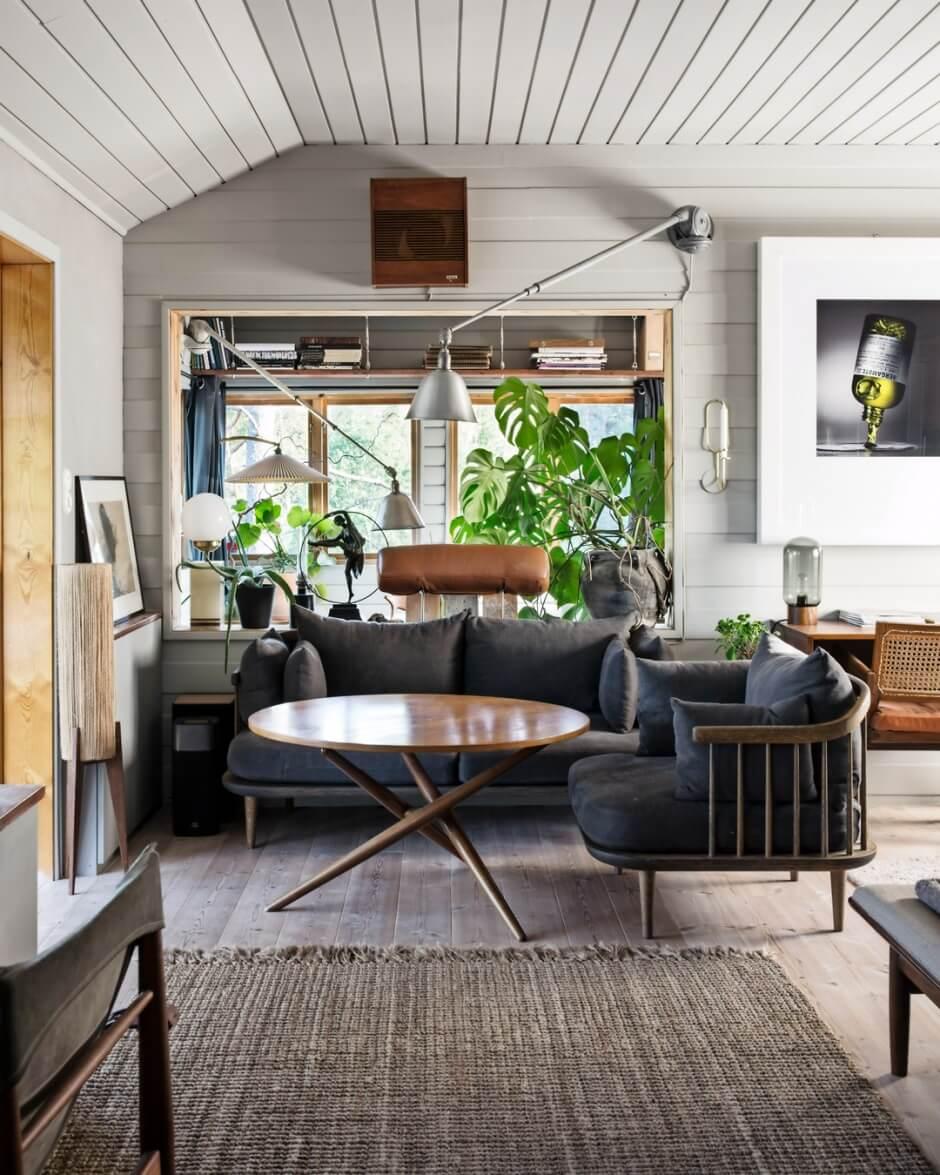 A Swedish Summerhouse Filled With Vintage Design