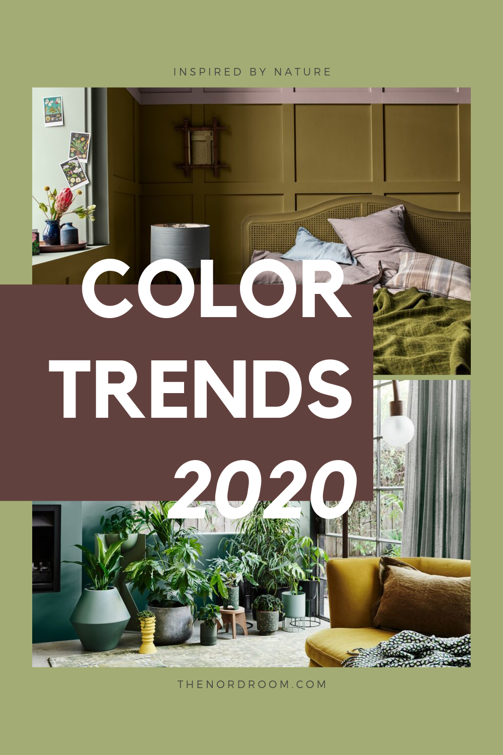 The Color Trends For 2020 Are Inspired by Nature
