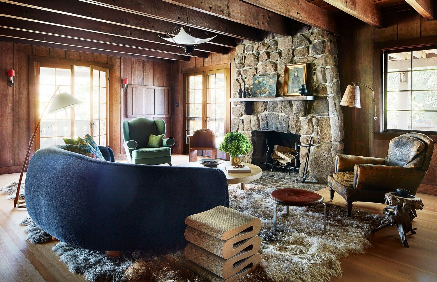Anne Hathaway's Warm California Country Home