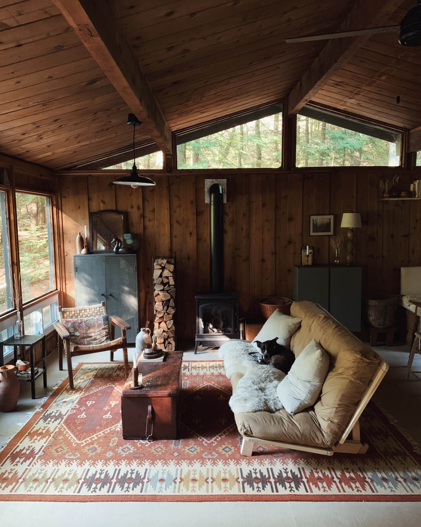 A Cabin in the Woods by Forestbound Founder Alice Saunders