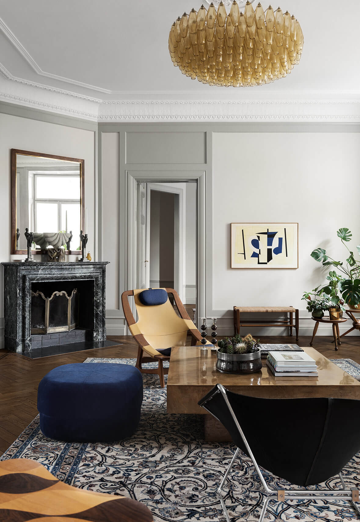 A Stylish Apartment Designed by Joanna Lavén