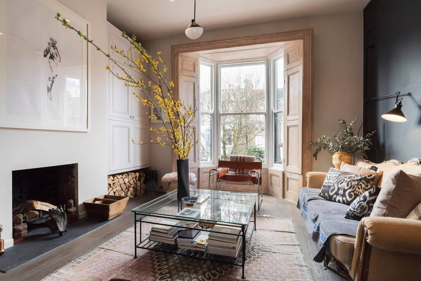 A Combination of Styles in Stunning London Airbnb