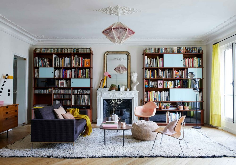 A Colorful Family Home in Paris