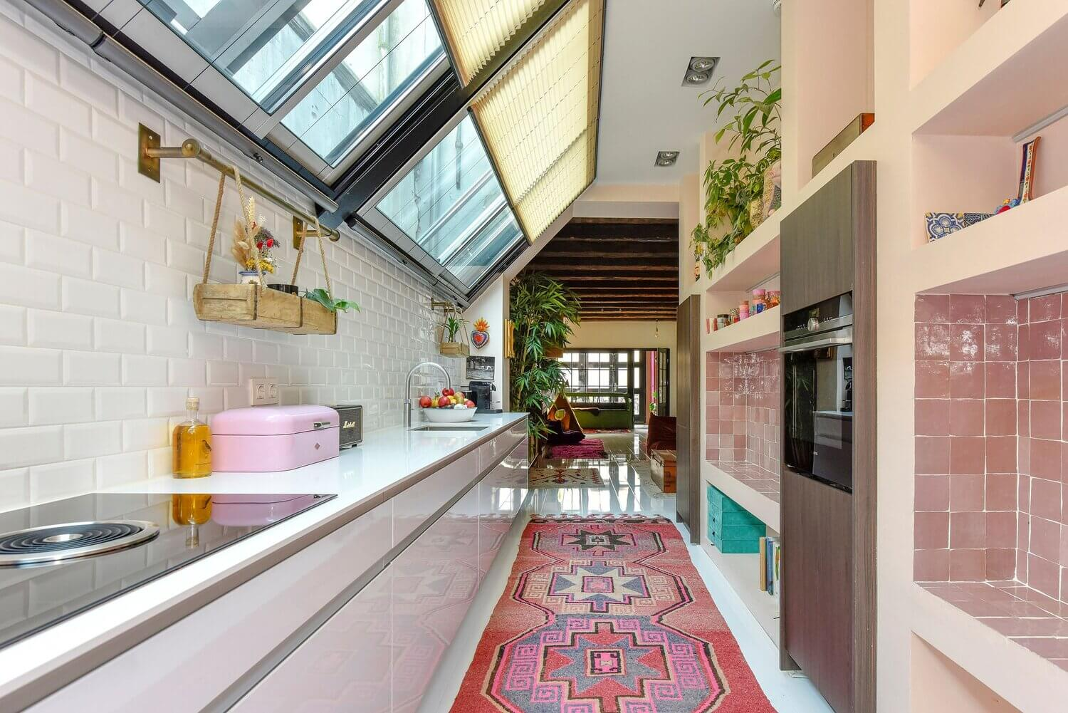 A Feast Of Color In An Amsterdam Family Home