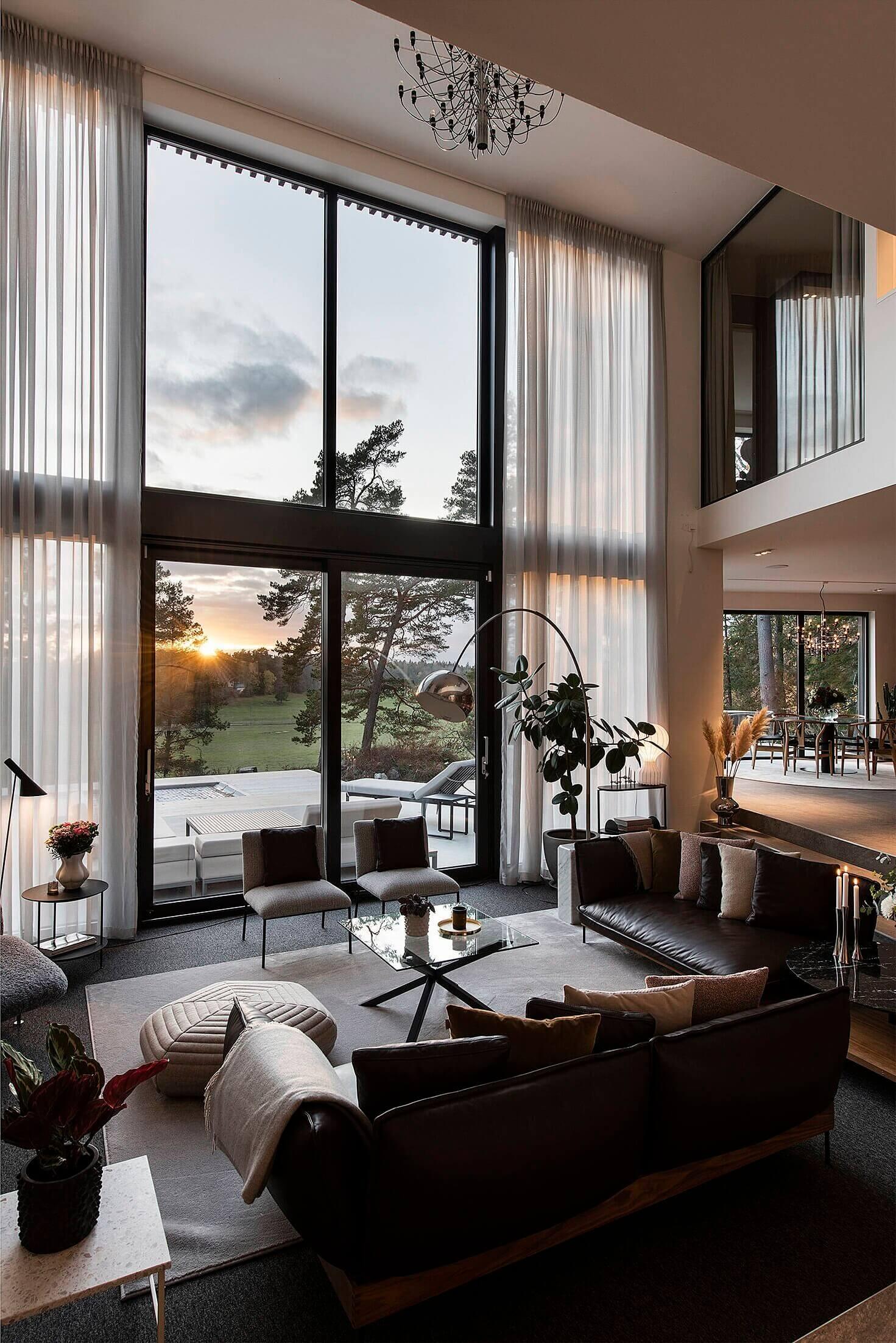 A Luxurious Open Plan Architectural Villa in Sweden