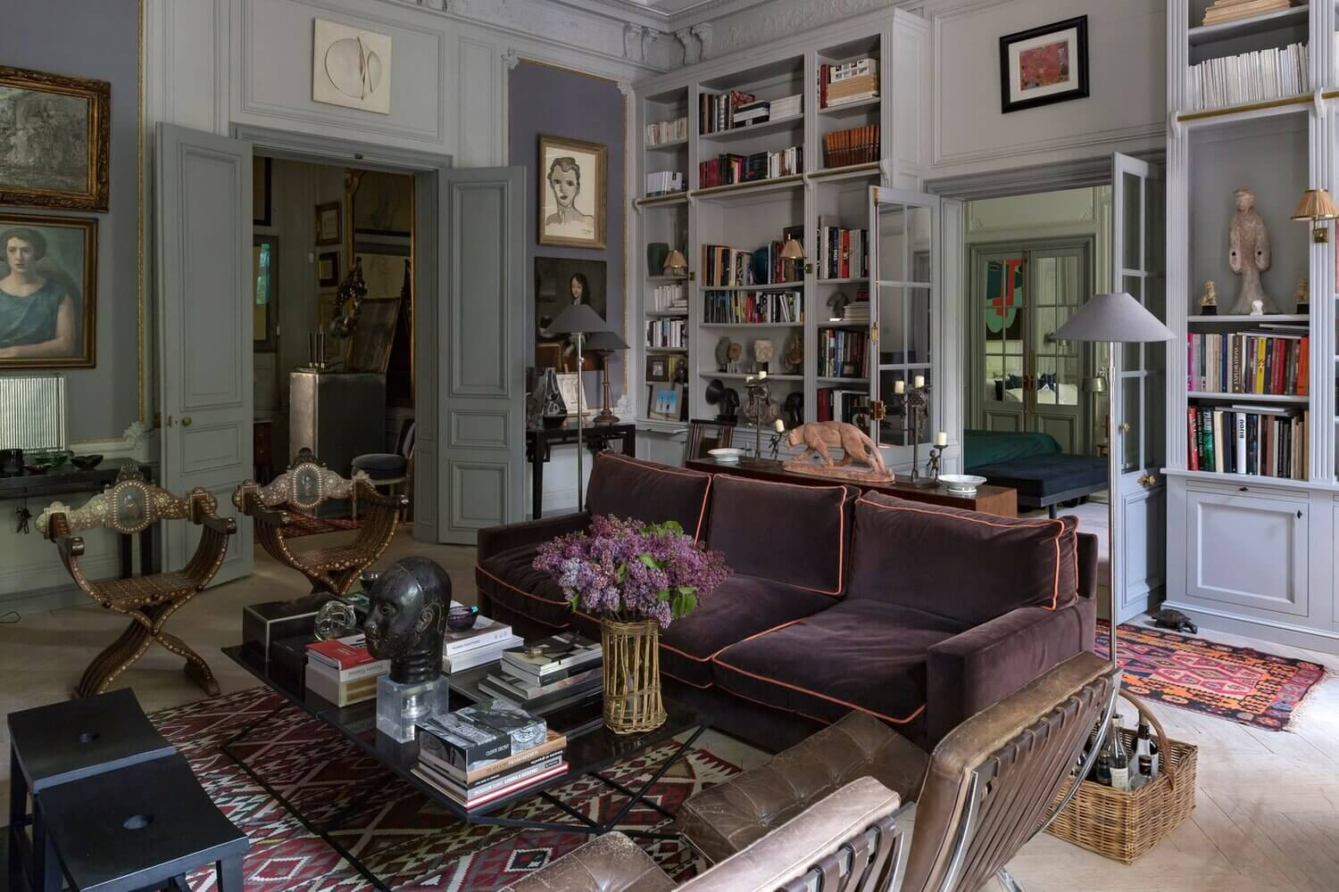 French Country Style In An Art-Filled Paris Home