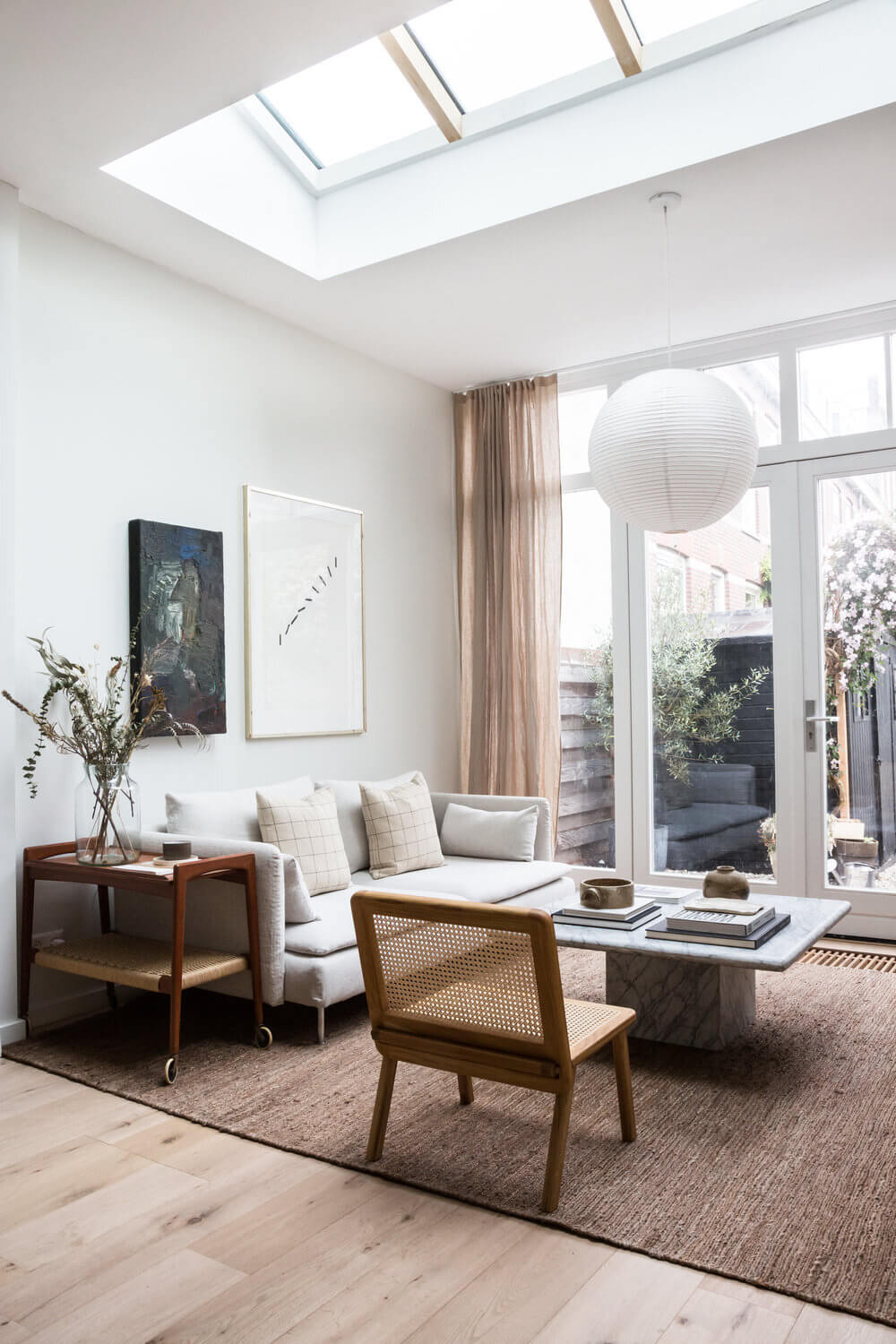 Holly Marder's Light-Filled Serene Home in The Netherlands