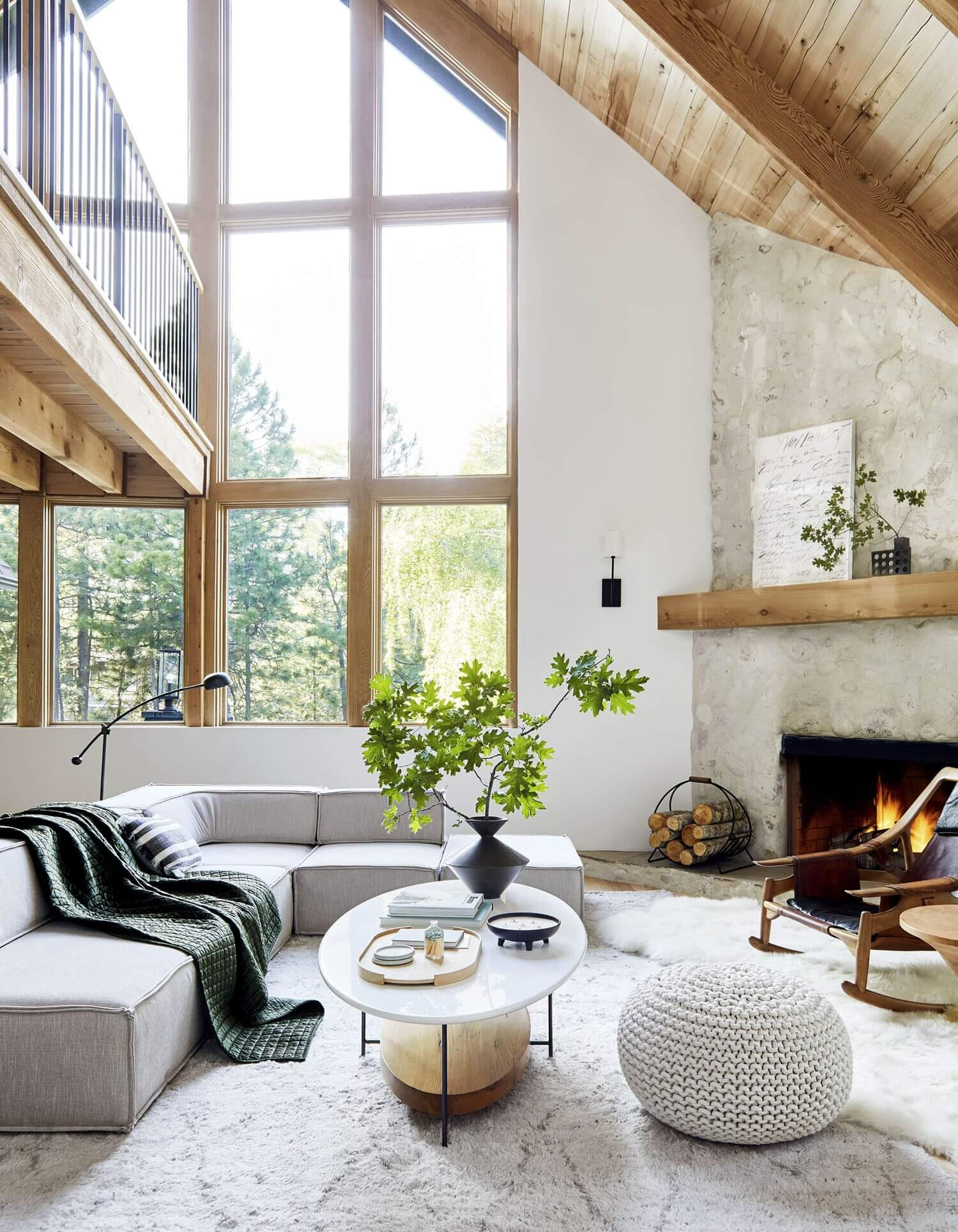 The Mountain House Designed by Emily Henderson + Get The Look