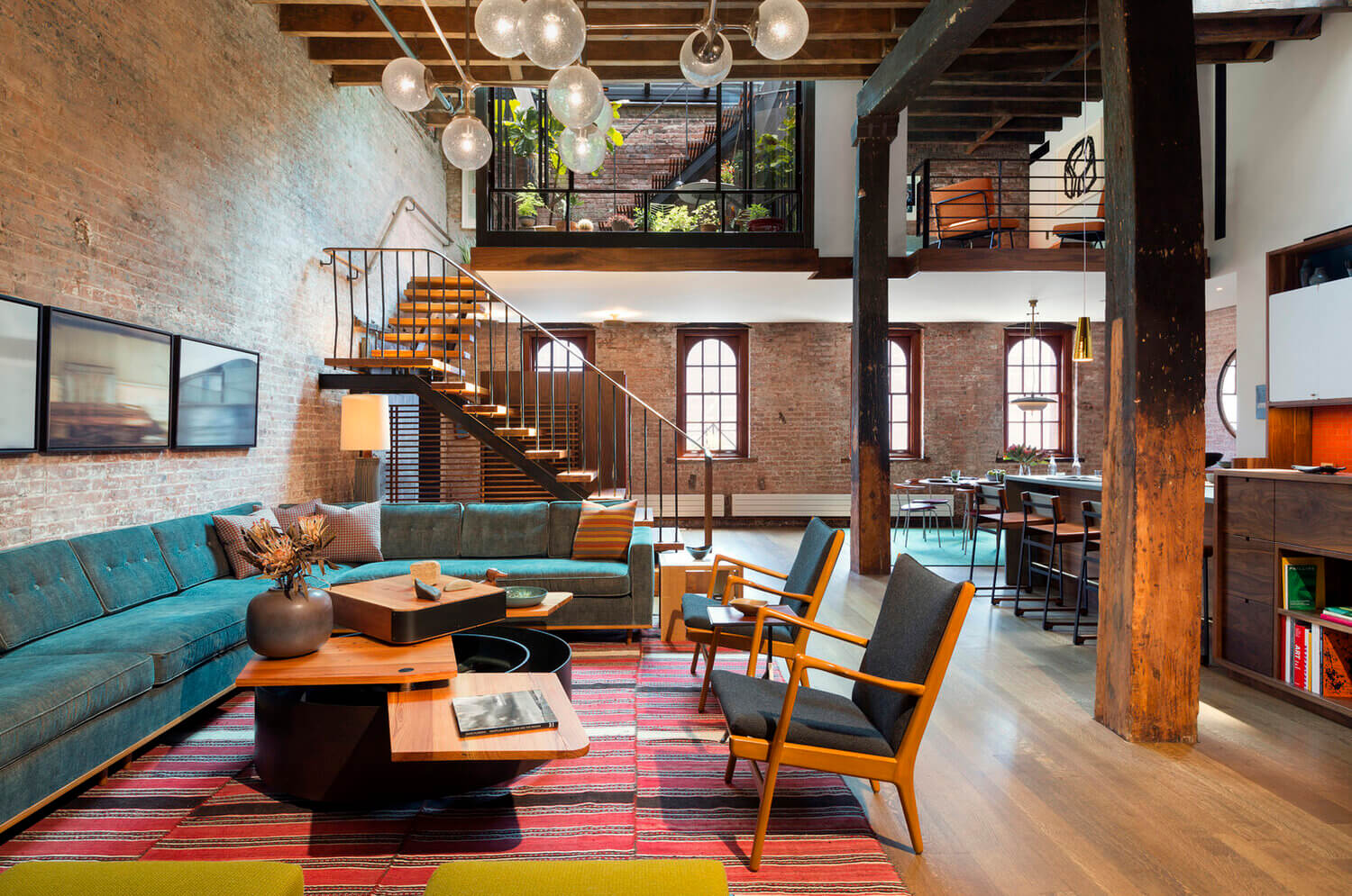 A Tribeca Loft in a Former Caviar Warehouse by Andrew Franz