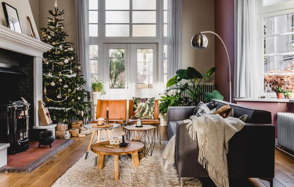 A Warm Christmas Home in a Former Dutch Vicarage