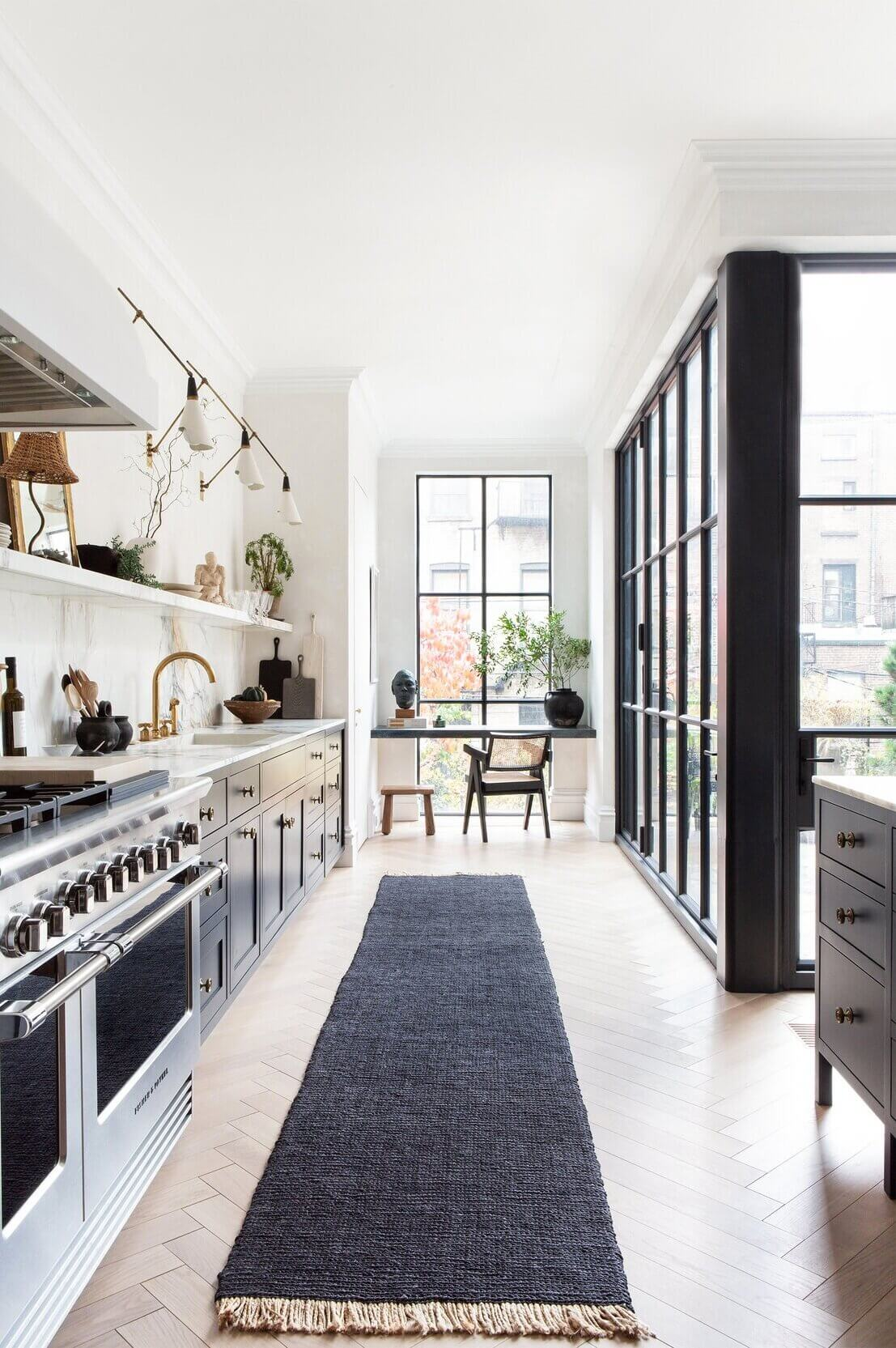 The Brooklyn Townhouse of EyeSwoon Founder Athena Calderone