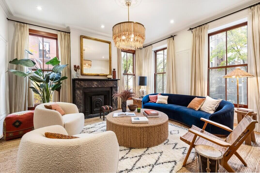 The Boho Brooklyn Townhouse of Norah Jones (And It's For Sale)