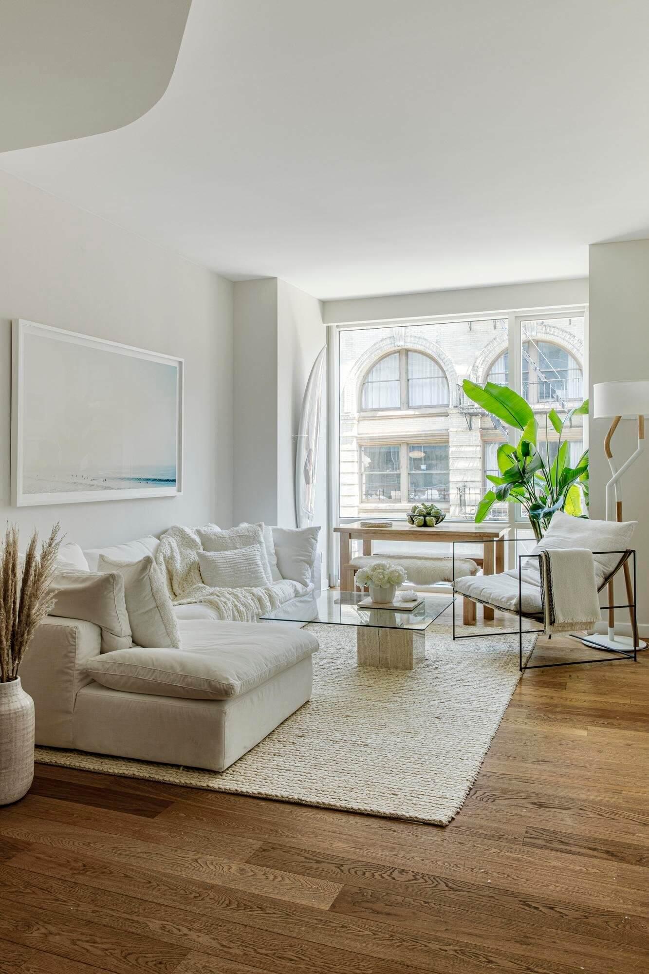 Calm Neutral Tones in a New York Apartment