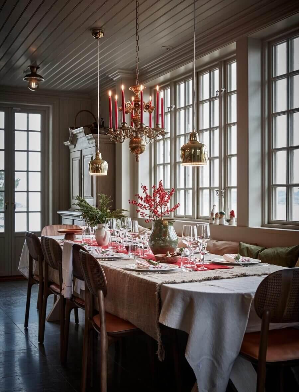 A Stylish Scandinavian Christmas Home