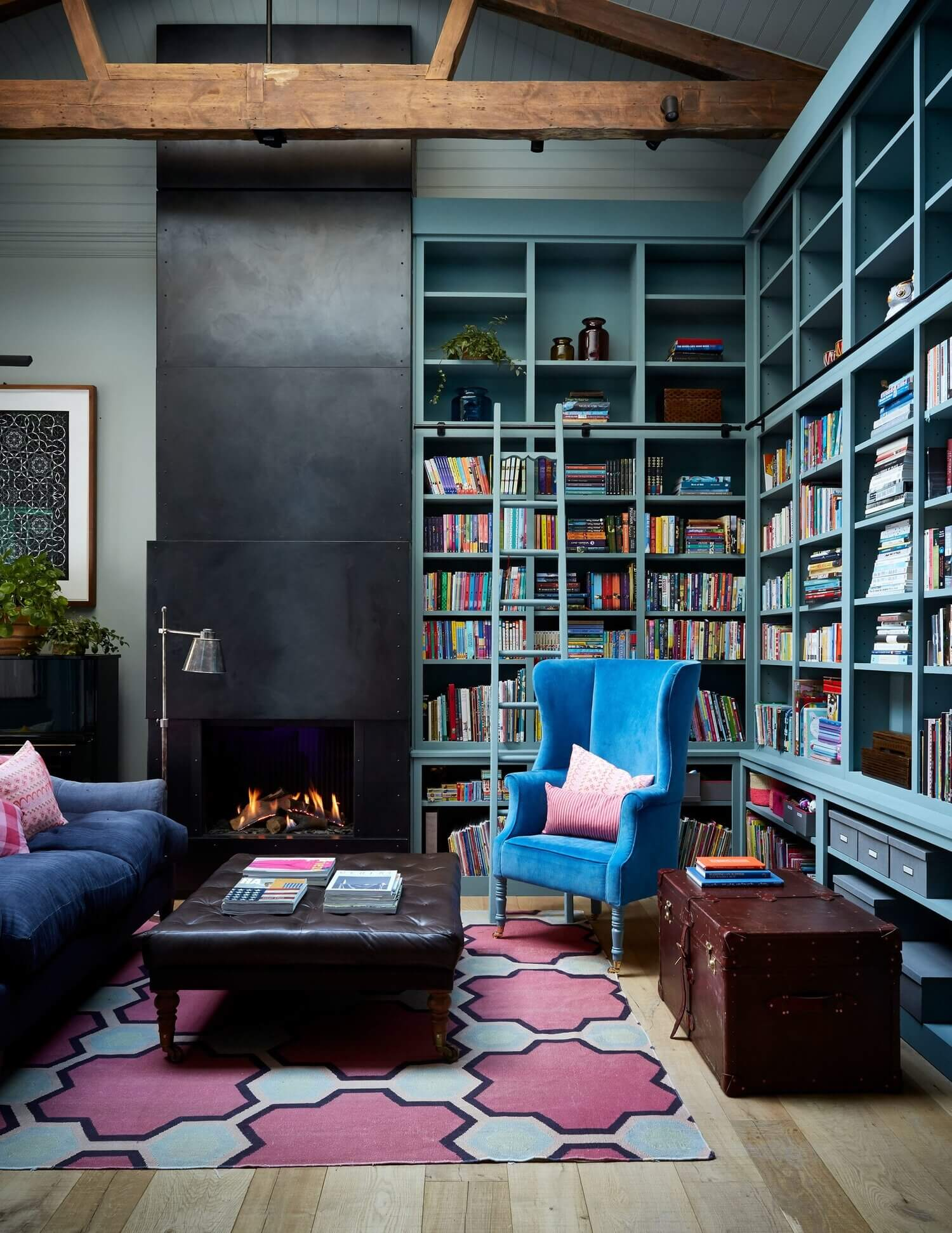 An Art-Filled 19th-Century Family Home in Notting Hill