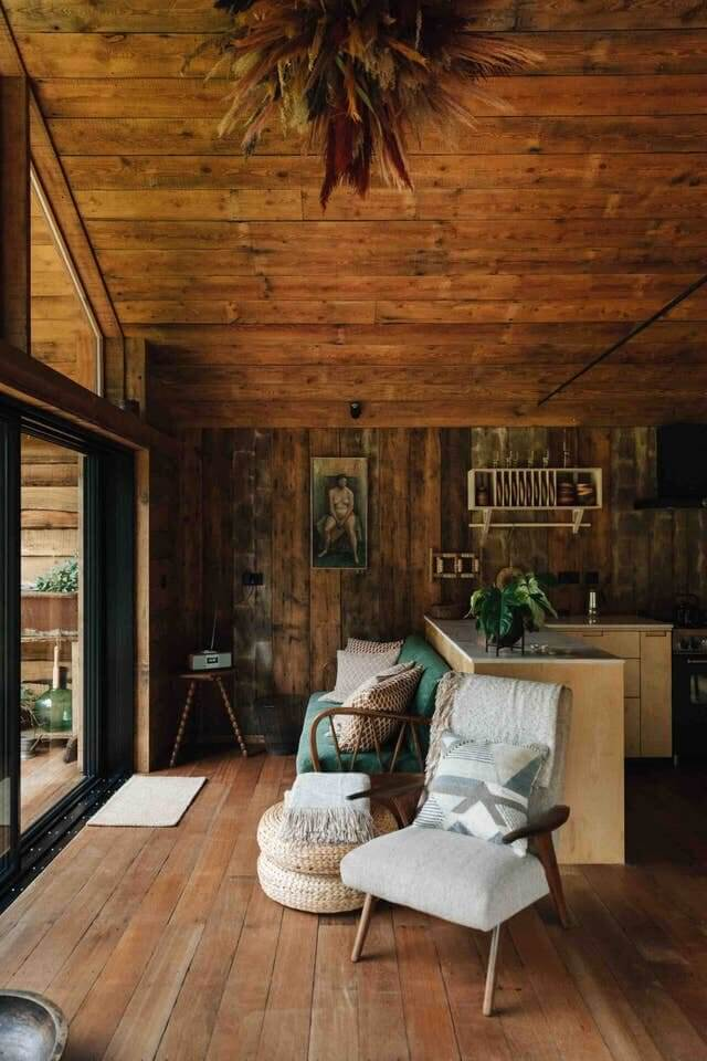 A Handcrafted Lakeside Cabin in the English Countryside