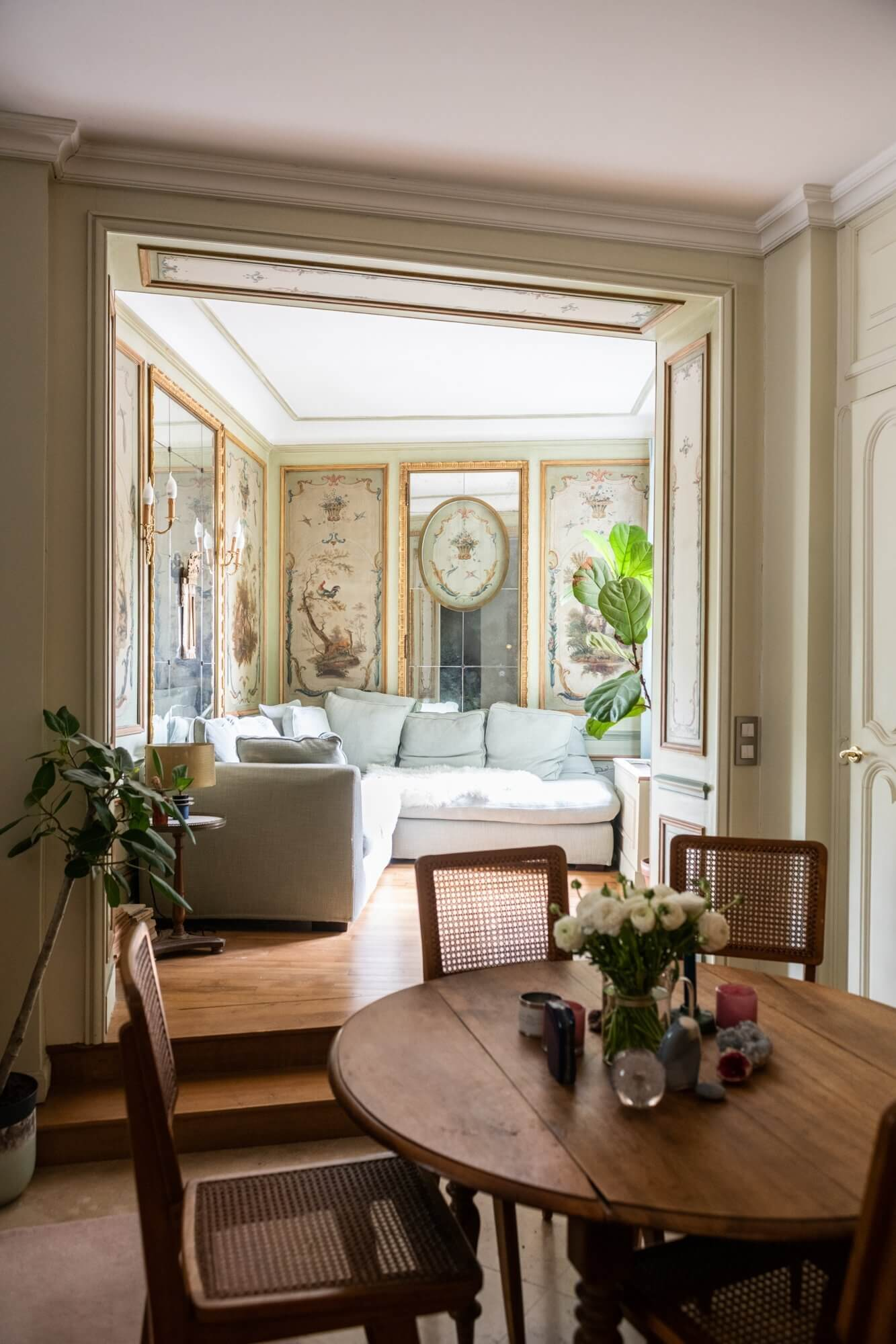 Historic Details in a Breathtaking Montmartre Home