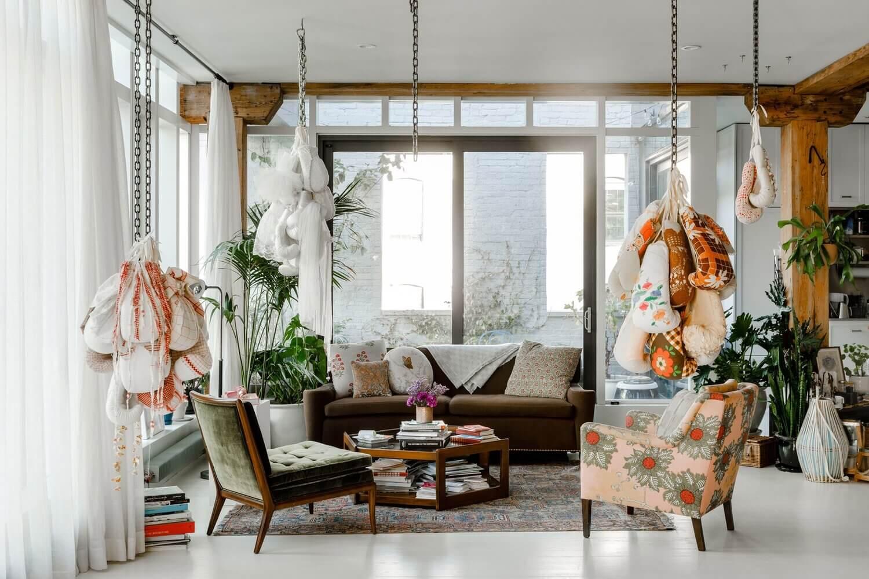 Zoë Buckman's Art-Filled Brooklyn Loft