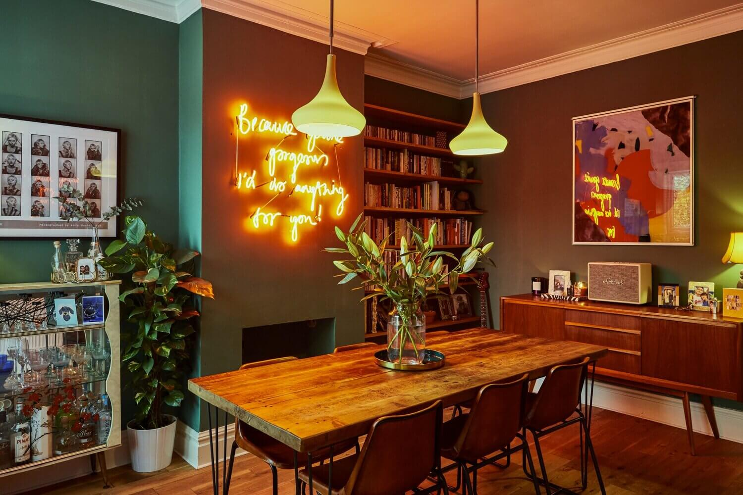 The Vibrant Eclectic Manchester Home of Megan Ellaby